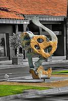 "Dominic Benhura ""Osterich"" Artwork, Sculpture,  Palm Desert, CA,  El Paseo"