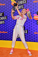 JoJo Siwa at the Nickelodeon Kids' Choice Sports Awards 2018 at Barker Hangar, Santa Monica, USA 19 July 2018<br /> Picture: Paul Smith/Featureflash/SilverHub 0208 004 5359 sales@silverhubmedia.com