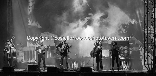 Avette Brothers at Boston Calling September 25, 2015.