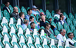 oben v.l. Geschaeftsfuehrer Michael Meeske (Wolfsburg), Joerg Schmadtke (Geschaeftsfuehrer Sport, Wolfsburg), Dr. Tim Schumacher (Geschaeftsfuehrer VfL Wolfsburg Fussball GmbH)<br />3. Reihe v.l. Christian Pfennig (Direktor Unternehmens- und Markenkommunikation DFL), Christian Seifert (DFL-Geschaeftsfuehrer), Oliver Kahn (Vorstand, Bayern) <br />2. Reihe v.l. Vorstandsvorsitzender Karl-Heinz Rummenigge (Bayern), Jan-Christian Dreesen (Vorstand Finanzen, Bayern)<br />Wolfsburg, 27.06.2020: nph00001: , Fussball Bundesliga, VfL Wolfsburg - FC Bayern Muenchen<br />Foto: Tim Groothuis/Witters/Pool//via nordphoto<br /> DFL REGULATIONS PROHIBIT ANY USE OF PHOTOGRAPHS AS IMAGE SEQUENCES AND OR QUASI VIDEO<br />EDITORIAL USE ONLY<br />NATIONAL AND INTERNATIONAL NEWS AGENCIES OUT