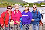 At the Cahersiveen Regatta on Sunday were l-r; Aislinn O'Mahony, Eithne Ui? Chonaill, Eileen McGillicuddy & Marie Courtney.