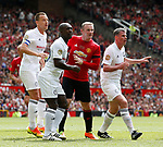 John Terry, Clarence Seedorf, Wayne Rooney and Jamie Carragher during the Michael Carrick Testimonial match at the Old Trafford Stadium, Manchester. Picture date: June 4th 2017. Picture credit should read: Simon Bellis/Sportimage