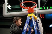 SPOKANE, WA - MARCH 28, 2011: Aaron Juarez, Stanford Women's Basketball vs Gonzaga, NCAA West Regional Finals at the Spokane Arena on March 28, 2011.