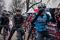 Cyclocross world champion & Strade debutant Wout Van Aert (BEL/Veranda's Willems-Crelan) at the start line<br /> <br /> 12th Strade Bianche 2018<br /> Siena > Siena: 184km (ITALY)