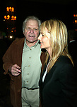 Brian Dennehy and Helen Hunt attending the Sixty-Ninth Annual Drama League Awards Luncheon at the Grand Hyatt Hotel in<br />New York City.<br />May 9, 2003