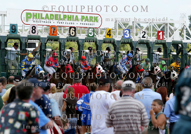 Racing at Philadelphia Park<br />
