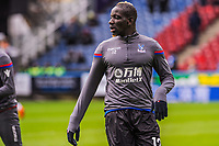 Crystal Palace's defender Mamadou Sakho (12) during the EPL - Premier League match between Huddersfield Town and Crystal Palace at the John Smith's Stadium, Huddersfield, England on 17 March 2018. Photo by Stephen Buckley / PRiME Media Images.