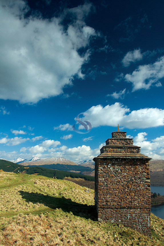 The Arrochar Alps from Dun na Cuaiche, Inveraray, Argyll & Bute