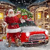 Isabella, NAPKINS, SERVIETTEN, SERVILLETAS, Christmas Santa, Snowman, Weihnachtsmänner, Schneemänner, Papá Noel, muñecos de nieve, realistic animals, realistische Tiere, animales re, paintings+++++,ITKE533305S-L,#SV#,#X#, EVERYDAY