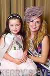 Boston & New England Rose Deirdre Buckley pictured with her Rosebud Kasey Pyne at the Carlton Hotel at the Rose of Tralee on Friday.