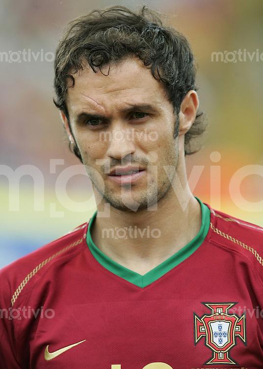 Fussball WM 2006  Gruppenspiel  Vorrunde Gruppe D  Portugal - Iran  Ricardo CARVALHO (POR)