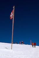 Wanderweg vom Jungfraujoch zum Mönchsjoch, Berner Oberland, Schweiz, Unesco-Weltkulturerbe