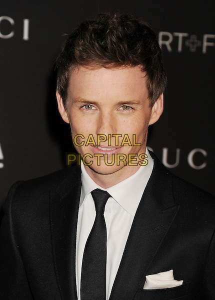 LOS ANGELES, CA - NOVEMBER 01: Actor Eddie Redmayne attends the 2014 LACMA Art + Film Gala honoring Barbara Kruger and Quentin Tarantino presented by Gucci at LACMA on November 1, 2014 in Los Angeles, California.<br /> CAP/ROT/TM<br /> &copy;Tony Michaels/Roth Stock/Capital Pictures