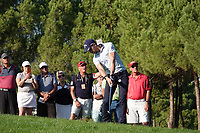 Thomas Detry (BEL) in action during the second round of the Turkish Airlines Open, Montgomerie Maxx Royal Golf Club, Belek, Turkey. 08/11/2019<br /> Picture: Golffile | Phil INGLIS<br /> <br /> <br /> All photo usage must carry mandatory copyright credit (© Golffile | Phil INGLIS)
