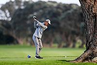 Sam Yoshifuji during the Charles Tour Augusta Funds Management Ngamotu Classic, Ngamotu Golf Course, New Plymouth, New Zealand, Thursday 12 October 2017.  Photo: Simon Watts/www.bwmedia.co.nz
