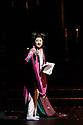 "Ninagawa Company presents William Shakespeare's ""Macbeth"" at the Barbican Centre.  This production is directed by Yukio Ninagawa, with set design by Kappa Senoh and lighting design by Sumio Yoshii. The cast is: Masachika Ichimura (Macbeth), Yuko Tanaka (Lady Macbeth), Kazunaga Tsuji (Banquo), Keita Oishi Macduff), Tetsuro Sagawa King Duncan).  Picture shows: Yuko Tanaka (Lady Macbeth)"