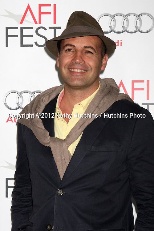 """LOS ANGELES - NOV 2:  Billy Zane arrives at the AFI Film Festival 2012 """"Life of Pi"""" Screening at Los Angeles on November 2, 2012 in Graumans Chinese Theater, CA"""