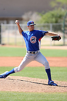 Jesse Ginley, Chicago Cubs 2010 minor league spring training..Photo by:  Bill Mitchell/Four Seam Images.