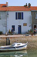 Europe/France/Pays de la Loire/85/Vendée/Ile de Noirmoutier : Le port