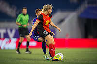 Orlando, Florida - Sunday, May 14, 2016: Western New York Flash defender Abigail Dahlkemper (13) during a National Women's Soccer League match between Orlando Pride and New York Flash at Camping World Stadium.