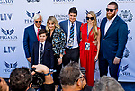 HALLANDALE BEACH, FL - JANUARY 27: The Baffert Family on the Blue Carpet on Pegasus World Cup Invitational Day at Gulfstream Park Race Track on January 27, 2018 in Hallandale Beach, Florida. (Photo by Scott Serio/Eclipse Sportswire/Getty Images)