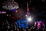 World champion pole dancer Pantera Blacksmith wows the crowd. The Freaks & Fetish Party kicked off the second annual Dallas Suscon, or suspension convention, in Dallas, Texas. Body suspension has gained mainstream exposure in recent years and suspension experts at Dallas Suscon are promoting safety and awareness.