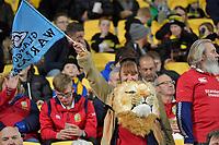 British and Irish Lions Fans during the New Zealand Lions Series - Hurricanes v British and Irish Lions at Westpac Stadium, Wellington, New Zealand on Tuesday 27 June 2017.<br /> Photo by Masanori Udagawa<br /> www.photowellington.photoshelter.com.