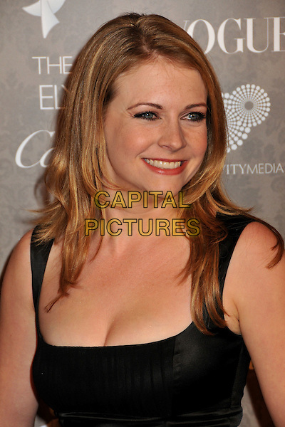 MELISSA JOAN HART .2nd Annual Art of Elysium Heaven Gala at Vibiana, Los Angeles, CA, USA, .10 January 2009..portrait headshot profile  black dress .CAP/ADM/BP.©Byron Purvis/Admedia/Capital PIctures