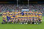 The Clare team before their Munster Championship semi-final at Thurles.  Photograph by John Kelly.