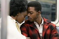 If Beale Street Could Talk (2018)<br /> KiKi Layne as Tish and Stephan James as Fonny  <br /> *Filmstill - Editorial Use Only*<br /> CAP/MFS<br /> Image supplied by Capital Pictures