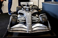 31st October 2019; Circuit of the Americas, Austin, Texas, United States of America; F1 United States Grand Prix, team arrival day;  F1 2021 Prototype on display at the Austin United States F1 of America