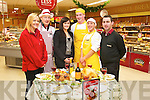 Pictured at Garveys Super Valu fair on Thursday last were l-r: Deborah Reid, Gerry Hannifin, Sandra Lynch, James Hannafin, Carmen Aparicio and Kevin O'Donoghue..