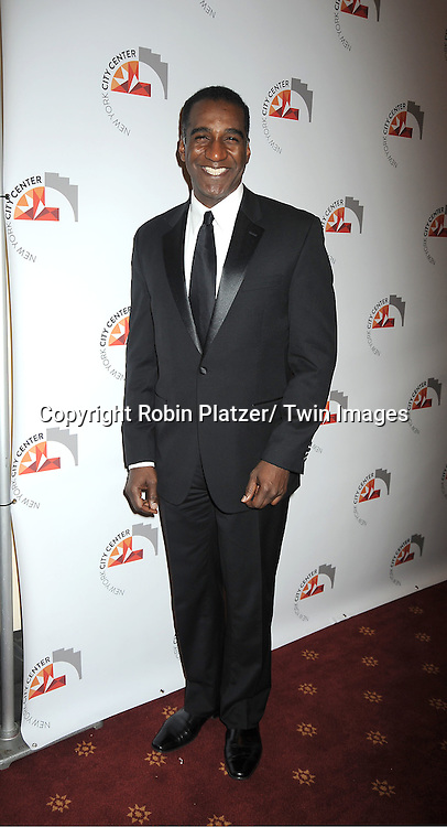 Norm Lewis attends the New York City Center Reopening on October 25, 2011 at City Center in New York City.