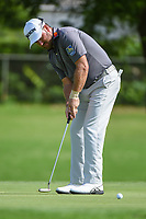 Graeme McDowell (NIR) barely misses his birdie putt on 6 during round 1 of the 2019 Charles Schwab Challenge, Colonial Country Club, Ft. Worth, Texas,  USA. 5/23/2019.<br /> Picture: Golffile | Ken Murray<br /> <br /> All photo usage must carry mandatory copyright credit (© Golffile | Ken Murray)