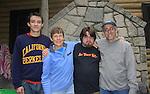 Edward Fead C'70 - wife Diane - sons Derek and Louis at Fead 2013 reunion