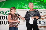 Winnemucca's Tri County Fair, Labor Day weekend..Mayor Di-An Putnam presents the youth and 4H high point winners