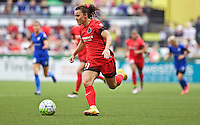 Portland, OR - Sunday, May 29, 2016: Portland Thorns FC forward Hayley Raso (21) during a regular season National Women's Soccer League (NWSL) match at Providence Park.