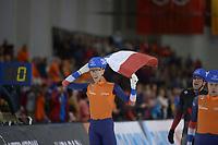 SPEEDSKATING: 16-02-2020, Utah Olympic Oval, ISU World Single Distances Speed Skating Championship, Mass Start Men, Jorrit Bergsma (NED), World champion, ©photo Martin de Jong