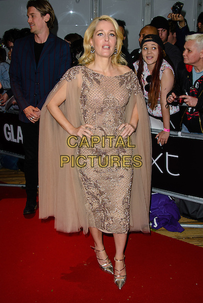 LONDON, ENGLAND - JUNE 02: Gillian Anderson arrives at the Glamour Women Of The Year Awards 2015 at Berkeley Square Gardens, on June 2nd, 2015 in London, England. <br /> CAP/JC<br /> &copy;JC/Capital Pictures