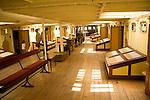 First class area below deck, SS Great Britain maritime museum, Bristol, England