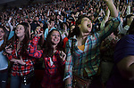 Luke Bryan plays his Dirt Road Diaries Tour at the Resch Center  on February 28, 2013.