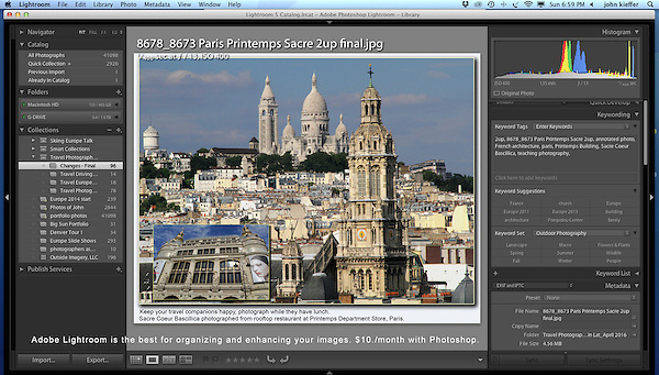 France, Paris. Lightroom Workshops.<br />