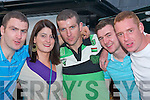 GOOD TIME: Enjoying the good time at the Ardfert Summer Festival on Sunday l-r: Noel Clifford, Helenna Sweeney, Mike Wallace, John Egan and John Paul Leen all from Ardfert..   Copyright Kerry's Eye 2008