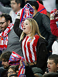 Atletico de Madrid's supporter during La Liga match. April 4,2017. (ALTERPHOTOS/Acero)