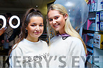 Amy Sommers (Tralee) and Chloe Sugrue (Tralee) at the Just Jordan Brand Beauty Masterclass in CH Chemists on Saturday.