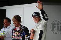 F1 GP of Brazil, Sao Paulo - Interlagos 05.- 07. Nov. 2010.Sebastian Vettel (GER), Red Bull Racing - Nico Huelkenberg (GER), Williams F1 Team ..Picture: Hasan Bratic/Universal News And Sport (Europe) 6 November 2010.