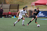 SALEM, VA - DECEMBER 3:Nathan Majumder (24) of Tufts University dribbles the ball during theDivision III Men's Soccer Championship held at Kerr Stadium on December 3, 2016 in Salem, Virginia. Tufts defeated Calvin 1-0 for the national title. (Photo by Kelsey Grant/NCAA Photos)