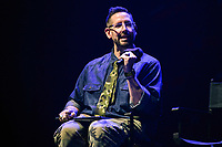 """NEW YORK - OCTOBER 5: Moderator, Damian Holbrook attends the panel for FX's """"DEVS"""" during the 2019 NY Comic-Con at Hammerstein Ballroom on October 5, 2019 in New York City. (Photo by Anthony Behar/FX/PictureGroup)"""