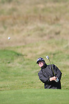 Day two of the Irish PGA championship at Seapoint Golf Club, Des Smyth on the 9th green...Picture Jenny Matthews/Newsfile.ie