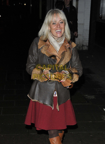 LONDON, ENGLAND - FEBRUARY 24: Tracie Bennett attends the &quot;The A-Z of Mrs P&quot; press night, Southwark Playhouse Theatre, Newington Causeway, on Monday February 24, 2014 in London, England, UK.<br /> CAP/CAN<br /> &copy;Can Nguyen/Capital Pictures